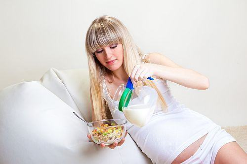 Alimente recomandate in timpul sarcinii