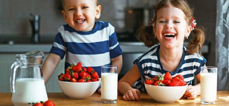 Alimente care ii fac pe copii fericiti