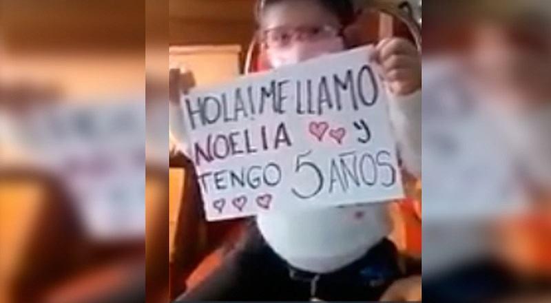 Mesajul emotionant al unei fetite care a stat 162 de zile izolata
