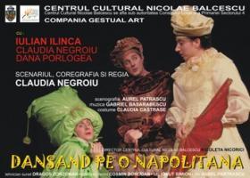 `Dansand pe o napolitana`, piesa de teatru pentru copii