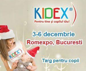 Distractie si super-premii doar la KIDEX!