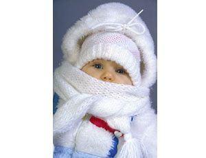 Protectia solara a bebelusului iarna