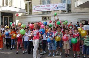 Gabi Szabo da startul campaniei Sport pentru Viata