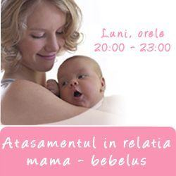 Atasamentul in relatia mama-bebelus