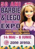 Barbie si Lego, expozitie de neuitat pentru copilul tau