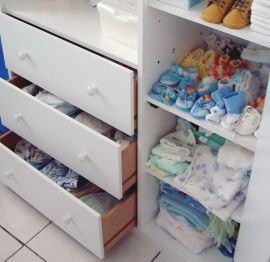 Calcatul hainelor bebelusului