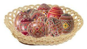 Ouale rosii - obiceiuri si traditii de Pasti