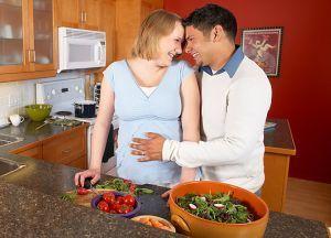 Dieta Mediteraneana in sarcina, alunga astmul copilului