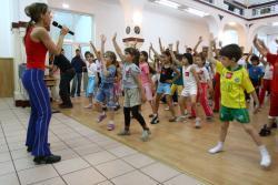 """Campania pentru copii """"Sport pentru viata"""""""