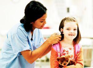 Infectia urechii la copil