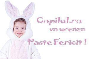 Copilul.ro iti ureaza Paste Fericit!
