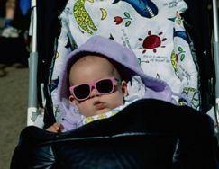 Protectia solara a bebelusului in timpul iernii