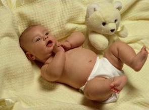 Salteaua pentru bebelus