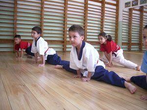 Micii samurai, arte martiale pentru prescolari?