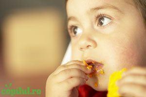 Greutatea copilului, influentata de sare