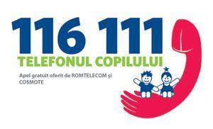 In vacanta s-au triplat apelurile catre Telefonul Copilului 116111