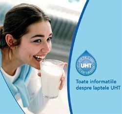 Mituri despre laptele UHT
