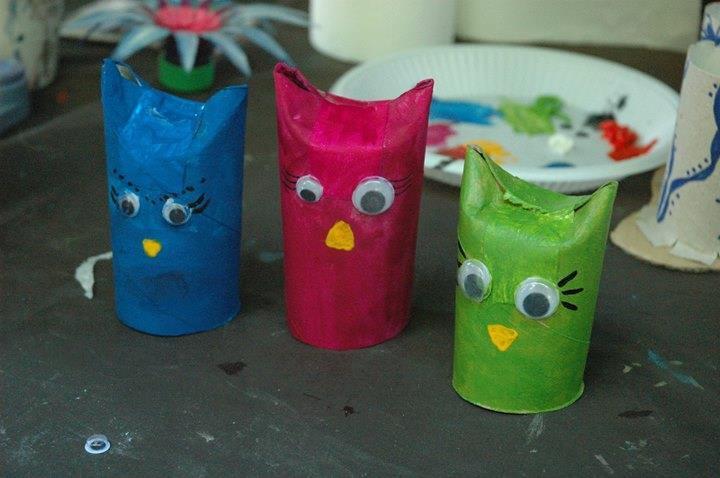 Recicloniarta - Curs de arte plastice si reciclare creativa