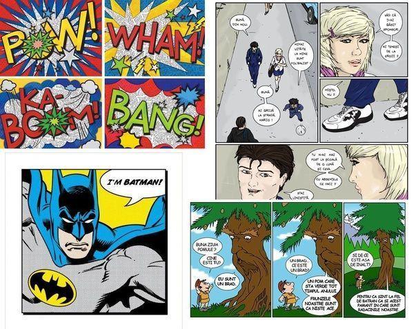 Recicloniarta  - Curs de benzi desenate si reciclare creativa