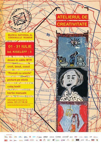 Vacanta la Atelierul de creativitate 2014 - Muzeul National al Taranului Roman