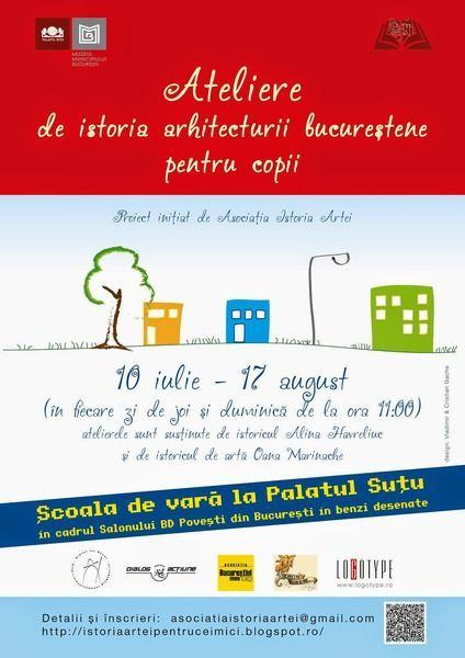 Ateliere de istoria arhitecturii bucurestene, Palatul Sutu, 10 iulie-17 august