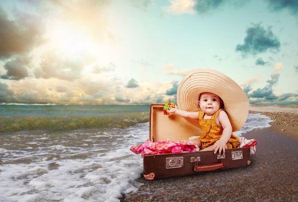 Bagajul bebelusului pentru vacanta