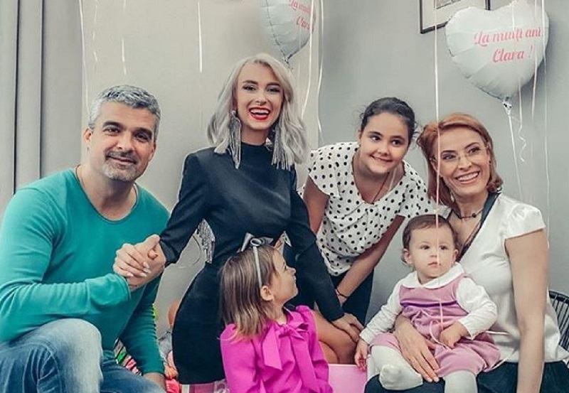 Andreea Balan a povestit cum a fost intalnirea cu fostul sot la petrecerea fetitei sale