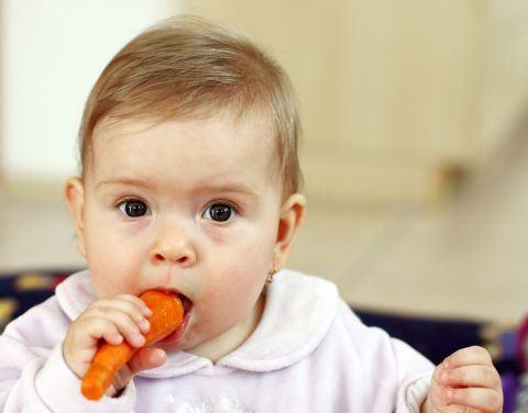Cand introducem morcovul in alimentatia copilului
