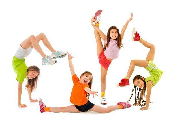 Gimnastica pentru copii. De la ce varsta?