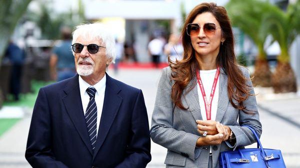 Bernie Ecclestone a devenit tata la 89 de ani