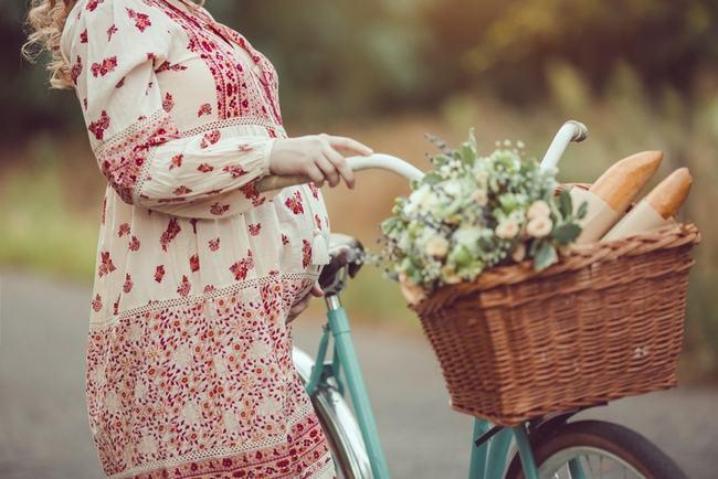 Mersul cu bicicleta in sarcina. Beneficii si riscuri