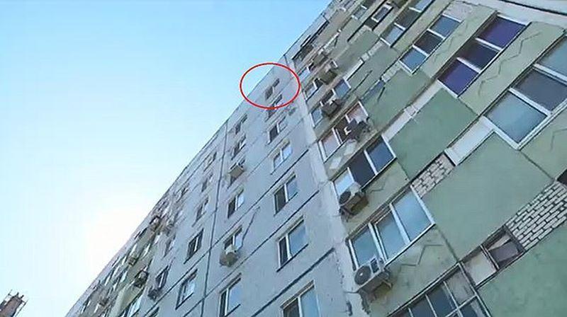 Un copil de 8 ani s-a aruncat de la etajul 9, din cauza batailor primite de la parinti