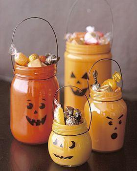 Cum sa faci recipientul copilului pentru dulciuri de Halloween