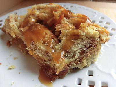 Budinca de paine cu mere