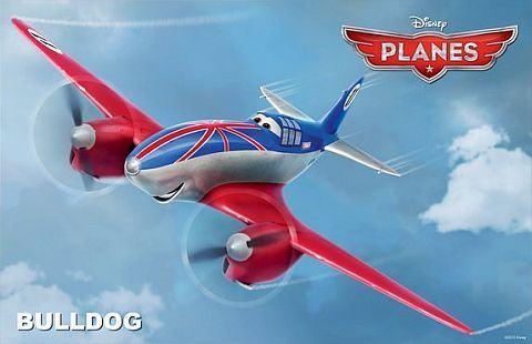 Bulldog, cel mai experimentat personaj din Planes