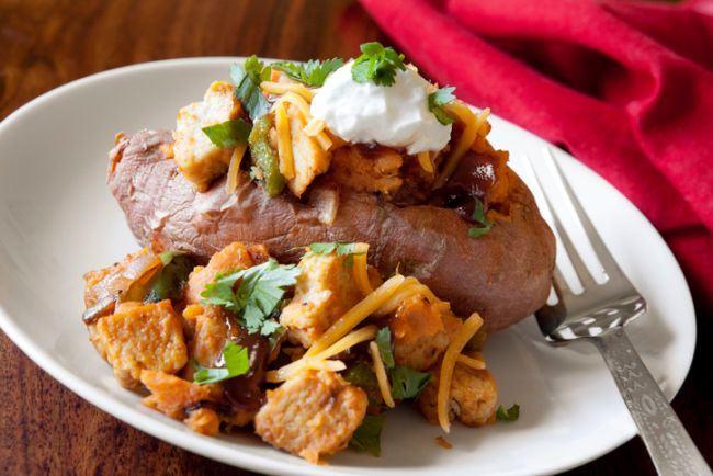Cartof copt cu pipota