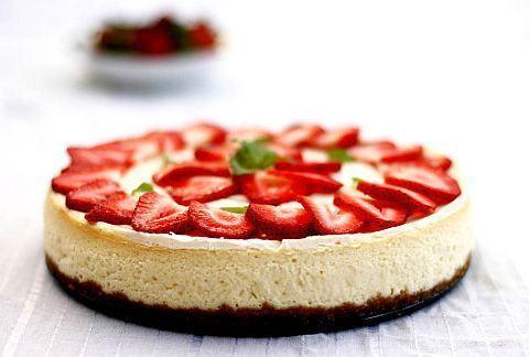 Cheesecake cu capsune