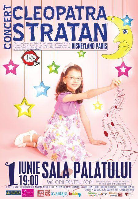 Cleopatra Stratan in concert de 1 iunie