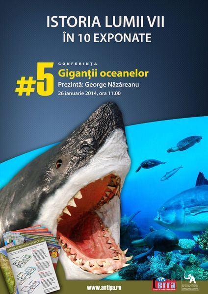 Descopera Gigantii Oceanelor la Antipa!