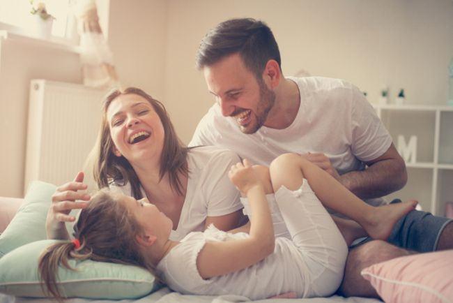 Copiii fericiti au nevoie doar de timp si iubire
