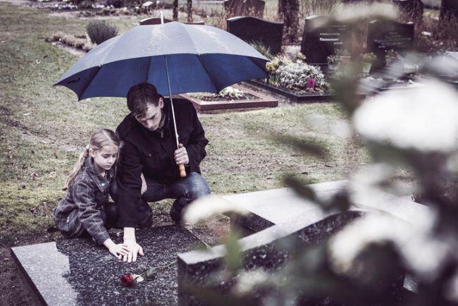 Cum vad copiii moartea