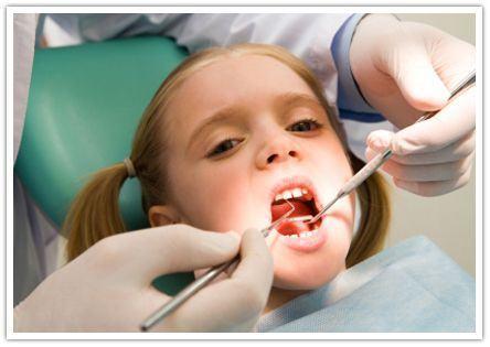 Teama de dentist la copii