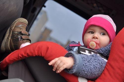 Siguranta copiilor in masina iarna
