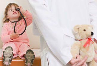 Vizita copilului mic la medic (2-3 ani)