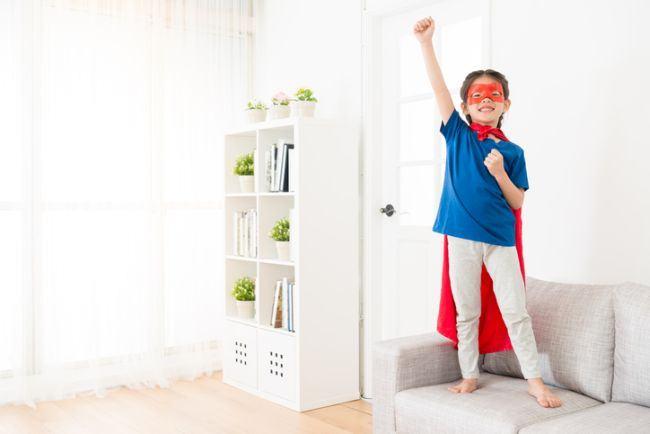 Cum sa cresti un copil sigur pe el