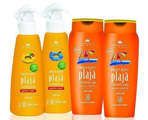 Soarele e prietenul tau cel mai bun cu produsele Cosmetic Plant