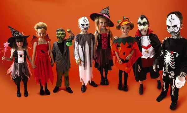 7 costume de Halloween pentru copii, foarte usor de facut