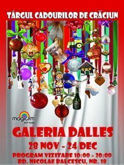 Sala Dalles se transforma in Galeria Cadourilor de Craciun!