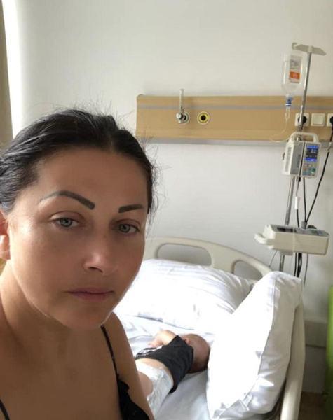 Gabriela Cristea, de urgenta cu fetita cea mica la spital