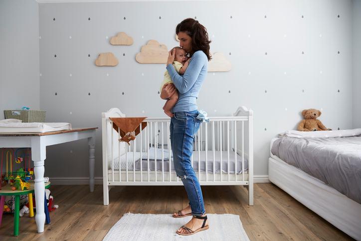 Culori relaxante pentru camera bebelusului